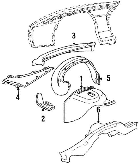 inner components for 1984 pontiac firebird  trans am