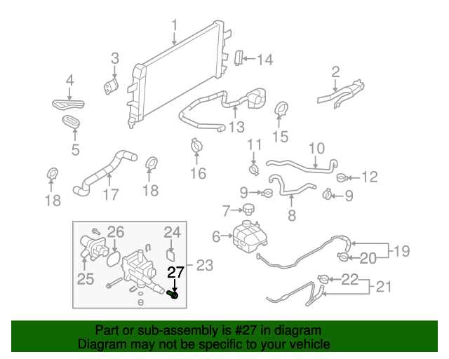 55591401 Sensor New Oem Part From Gm Parts Direct