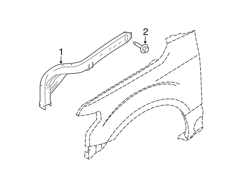 Inner Components For 2017 Ford F 150