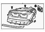 Headlamp Assembly - Volkswagen (3CN-941-036-B)