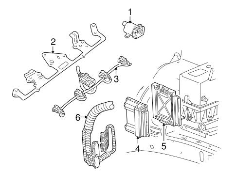 Ignition System For 2004 Chevrolet Ssr