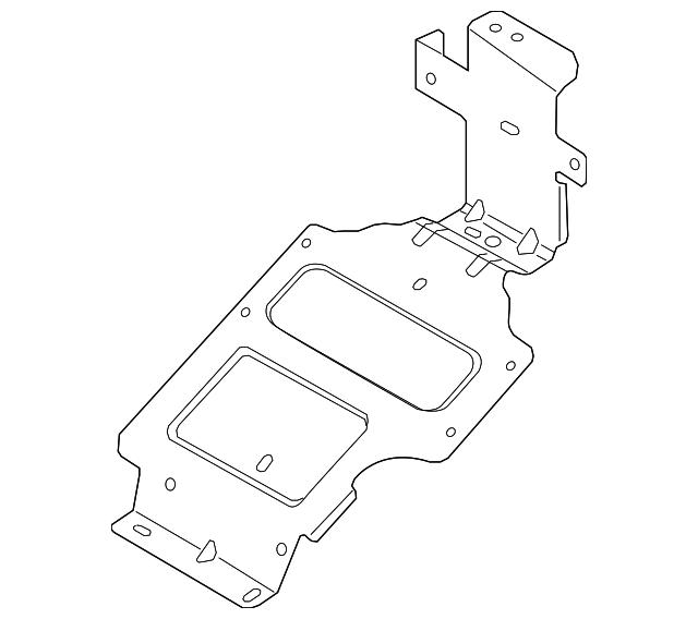 2015 2019 Ford Mount Bracket Gk4z 12a659 A