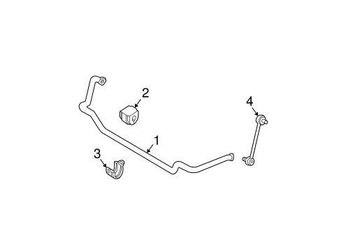Stabilizer Bar Components For 2004 Bmw 325i