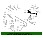 Wiper Frame - Mercedes-Benz (170-820-01-12)