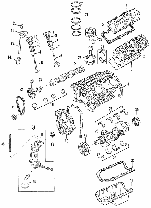 genuine oem engine parts for 2006 mazda b3000 ds realmazdaparts com rh realmazdaparts com