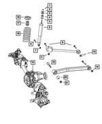 Genuine Chrysler 68087362AA Suspension Absorber Package