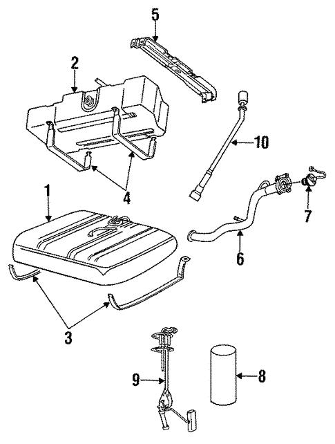 Fuel System Components For 1992 Dodge Grand Caravan Mopar Parts Canada
