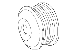 Pulley - Mercedes-Benz (104-230-01-15)