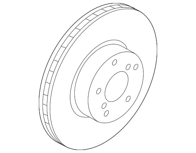Genuine Subaru Rotor 26300al010