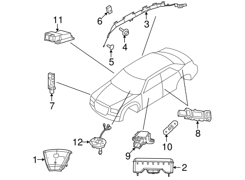 dodge ram air bag module with Mopar Head Air Bag 5108016ah on Pt Cruiser Ecm Wiring Diagram in addition 1996 Mazda Millenia Wiring Diagram And Electrical System Troubleshooting moreover Ford F 150 Fuse Bo Diagrams additionally Dodge Caravan 1996 Dodge Caravan Cruise Control Not Working likewise T10651438 2000 pontiac grand am 3400 wheres pcm.