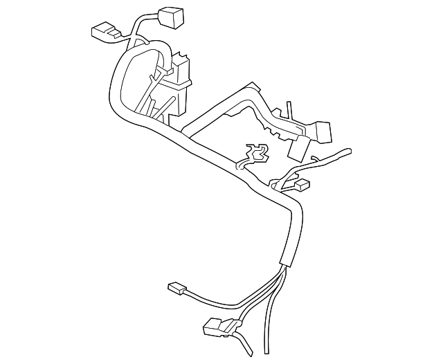 lincoln mkz engine wiring harness