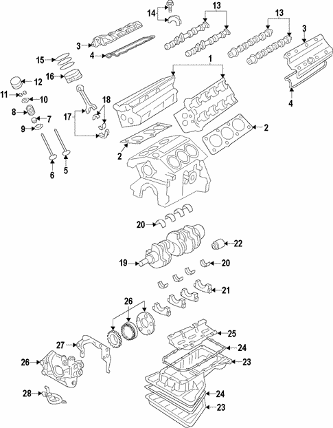 [FPER_4992]  Oil Pump for 1998 Cadillac Catera | GMPartOnline | Cadillac Catera 3 0 Engine Diagram |  | GM Parts Online