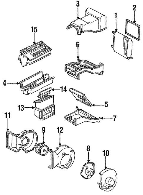 Condenser Compressor Lines For 1991 Gmc K1500 Pickup