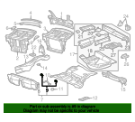 Seat Bracket - Mercedes-Benz (202-618-14-14)