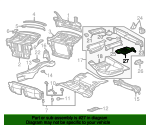 Extension - Mercedes-Benz (202-610-01-61)