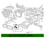 Seat Clamp - Mercedes-Benz (2026190030)