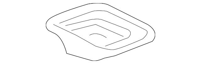 plate, transmission mount stopper (upper) - honda (50875-sda-a11