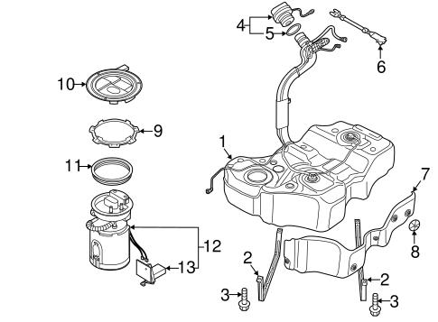 oem vw fuel system components for 2013 volkswagen passat