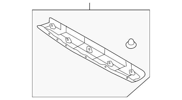 hyundai upper trim  81760