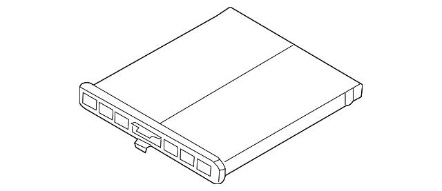 Blue Print ADM52264 Luftfilter für MAZDA 3 6 CX 5 KE GH KF GJ GL BM BN