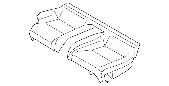 2005 Infiniti G35 Seat Cover 88320 Ac804