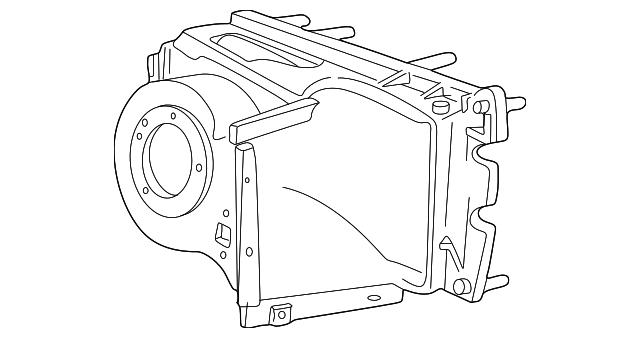2004 2014 Ford Evaporator Assembly Ac2z 19b555 A