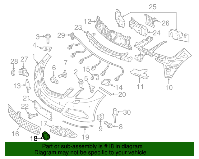 Trim ring mercedes benz 212 885 04 74 mbwholesale for Mercedes benz oem parts wholesale