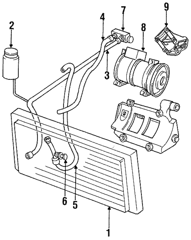 1993 2005 Mopar Pressure Transducer 5019881ab