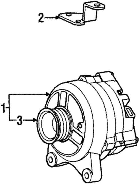 Alternator For 1999 Lincoln Navigator