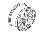 Wheel, Alloy - Ford (GD9Z-1007-E)