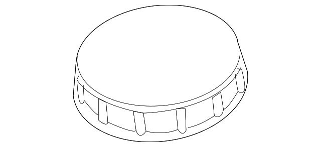 1996 2016 Ford Reservoir Tank Cap E9sz 2162 A