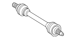 Axle Assembly - Mercedes-Benz (166-350-68-00)