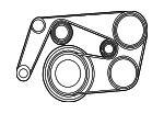 Serpentine Belt - Mercedes-Benz (013-997-74-92)