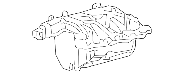 1998 Expedition Intake Manifold Cover Diagram