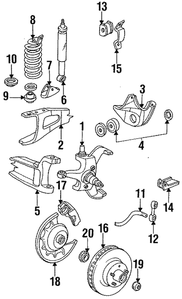 Ford F 150250350 Front Disc Brake Rotor Hub