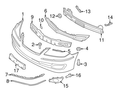 azera body bumper components front parts azera 2011. Black Bedroom Furniture Sets. Home Design Ideas