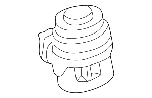 Shut-Off Valve - Mercedes-Benz (002-140-38-60)