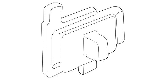 Honda Knob Assembly R Slide Door Lock Nh167l Graphite