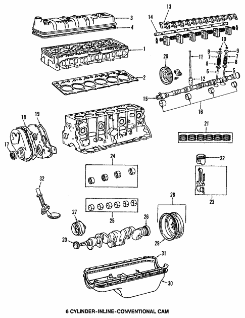Engine Parts for 1984 Toyota Land Cruiser #0