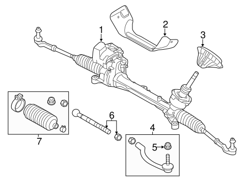Steering Gear & Linkage for 2013 Volvo S60 #1