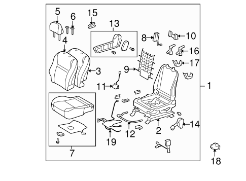 Wiring Harness Toyota Matrix