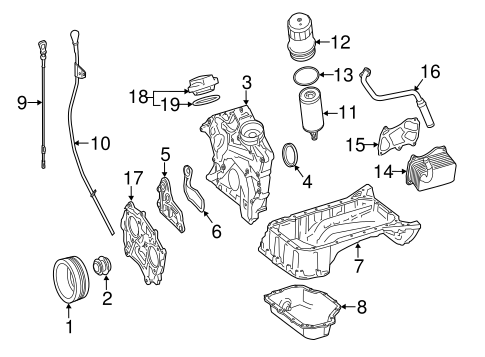 Engine Parts For 2015 Mercedes Benz Ml 350