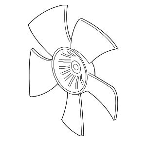 Fan, Cooling - Acura (19020-RV0-A01)