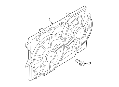 Cooling System/Cooling Fan for 2013 Ford Taurus #1