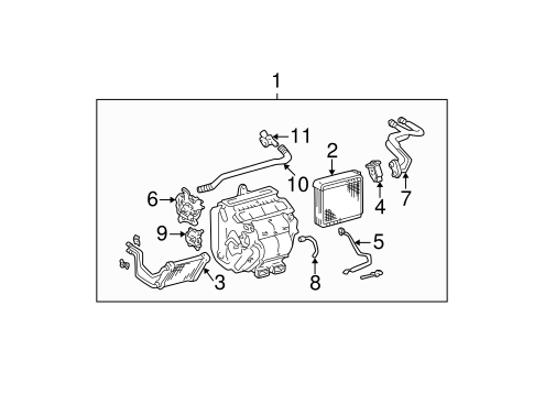HVAC/HEATER for 2005 Toyota Camry #1