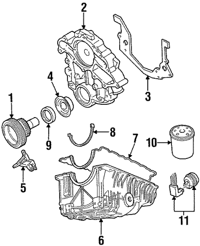 Engine/Engine Parts for 1997 Ford Ranger #1