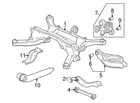 oem 2005 chevrolet equinox rear suspension parts. Black Bedroom Furniture Sets. Home Design Ideas