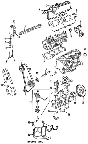 engine parts for 1992 dodge dakota parts