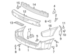 Bumper Cover Retainer - GM (10053182)