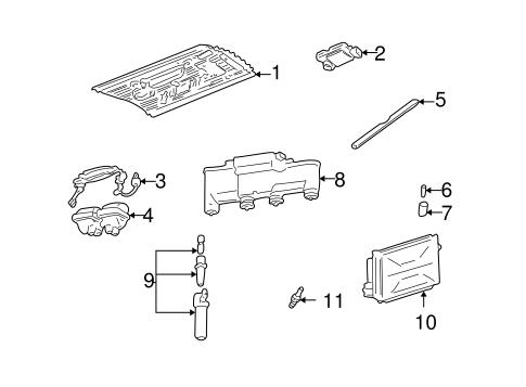oem 2000 pontiac grand am ignition system parts. Black Bedroom Furniture Sets. Home Design Ideas